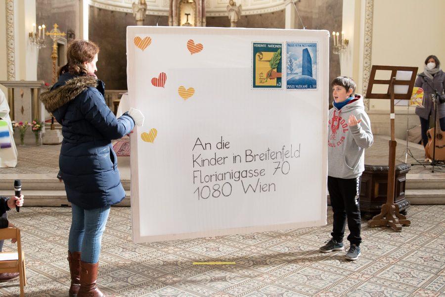 Diesmal wartete eine Überraschung auf alle Kinder in Breitenfeld und Kaiserebersdorf: